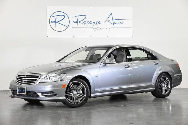 Vehicle details - 2012 Mercedes-Benz S-Class at Reserve ...