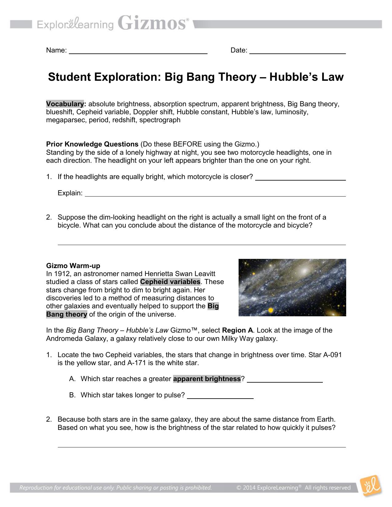 Student Exploration Ionic Bonds Gizmo Answer Key Activity ...