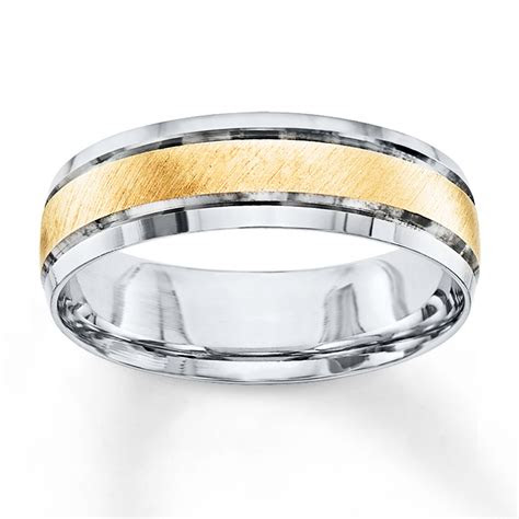 wedding band   tone gold mm  kayoutlet