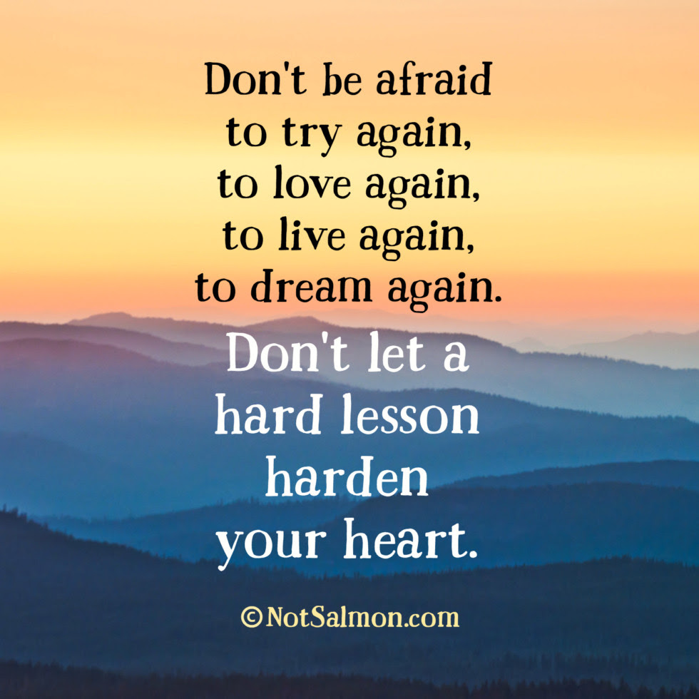quote hard lesson try again