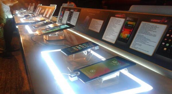 Peluncuran 4 Smartphone Smartfren Andromax (foto: Aditya/Okezone0