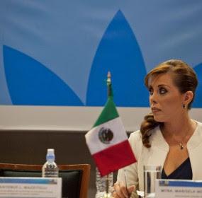 Marisela Morales, titular de la PGR. Foto: Miguel Dimayuga