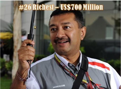 Mokhzani Mahathir - Malaysia 26 Richest