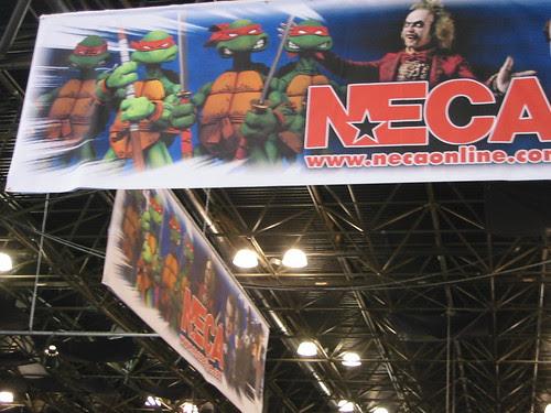 N Y CITY COMIC CON // NECA OVERHEAD  [[ Courtesy of Steve Murphy ]]