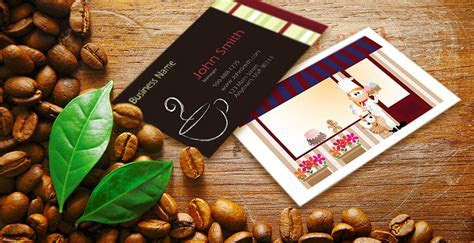 Restaurant Business Card Templates   FREE Shipping