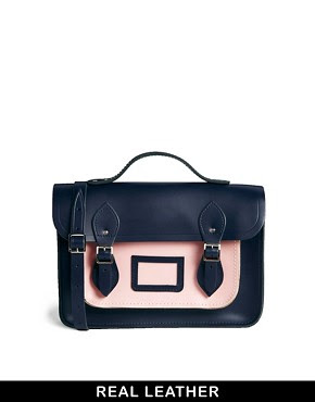 "Image 1 of Cambridge Satchel Company 13"" Two Tone Satchel"