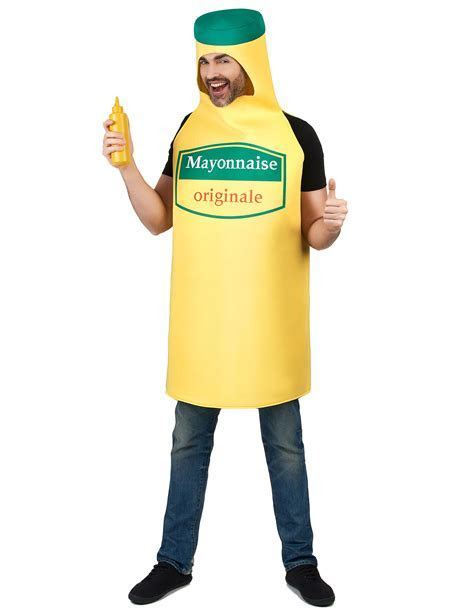Mayonnaise bottle costume for adults: Adults Costumes,and