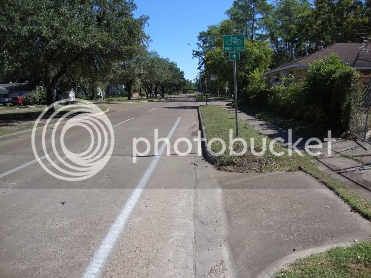 bike lane on Cavalcade