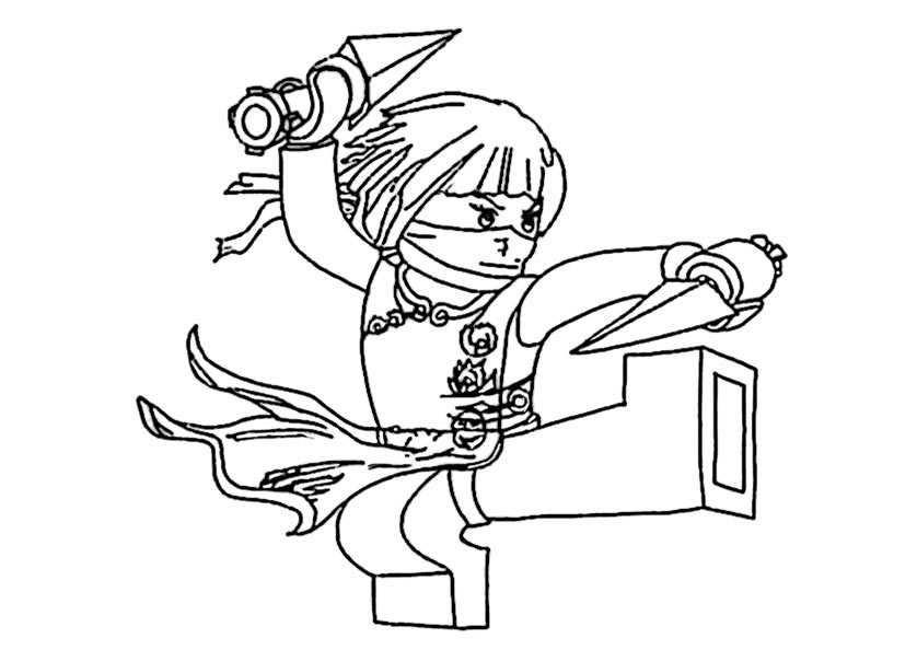 Ausmalbilder kostenlos Ninjago 20 | Ausmalbilder Kostenlos
