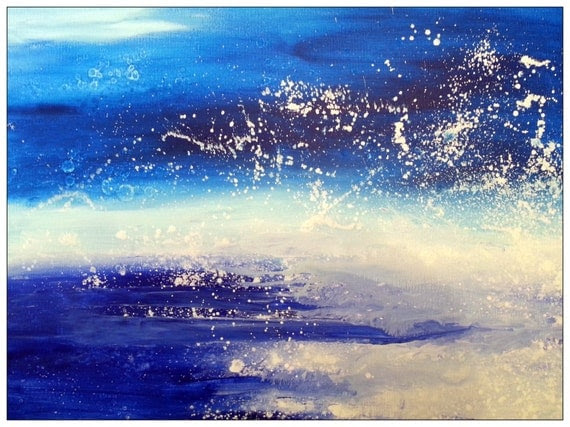 Abstract Art Original Painting Extra Large