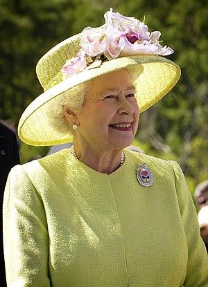 Queen of United Kingdom (as well as Canada, Au...