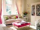 Feminine Living Room Interior Design with Modern Sofa - Home Decor ...