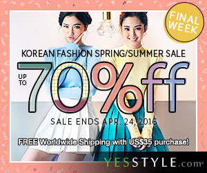 Final Week - Up to 70%off Korean S/S Fashion Sale