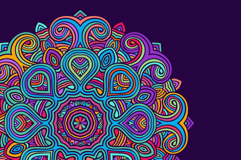 Coloriage Mandala  imprimer
