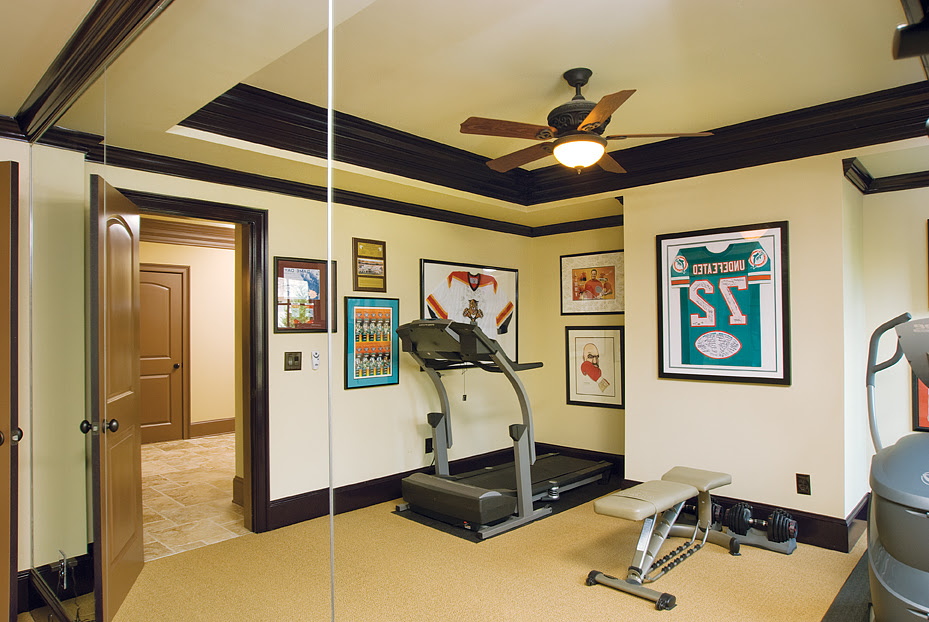 Home  Gym  Design  Tips  and Pictures