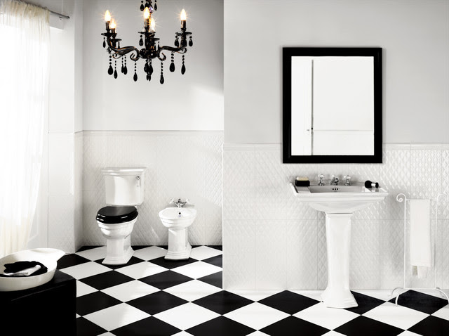Black And White Floor Tiles Products on Houzz