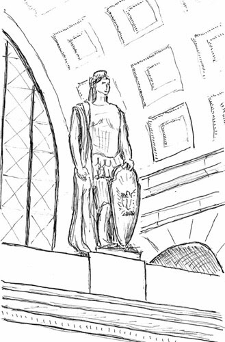 Statue at Union Station