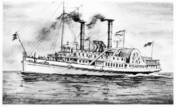 steam-ship