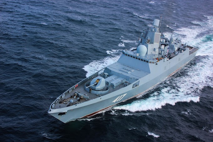 Conheça a nova fragata da classe Admiral Gorshkov da Marinha Russa
