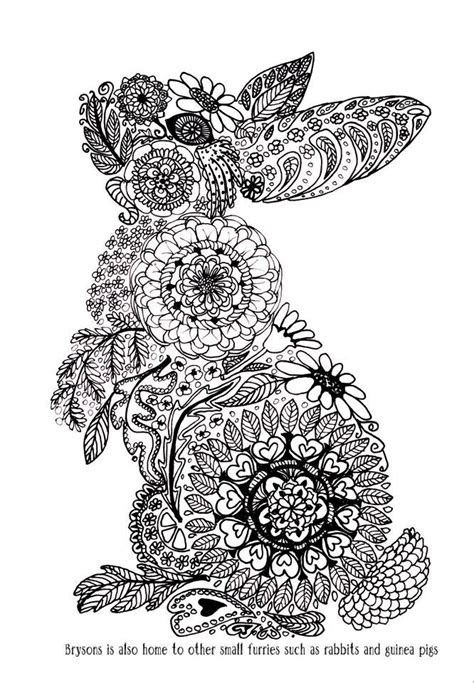 coloring zentangle doodle animals images