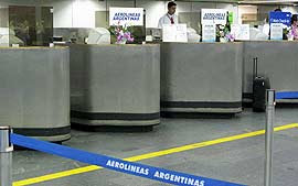 """A """"ESCULHAMBAÇÃO"""" DA AEROLINEAS ARGENTINAS"""