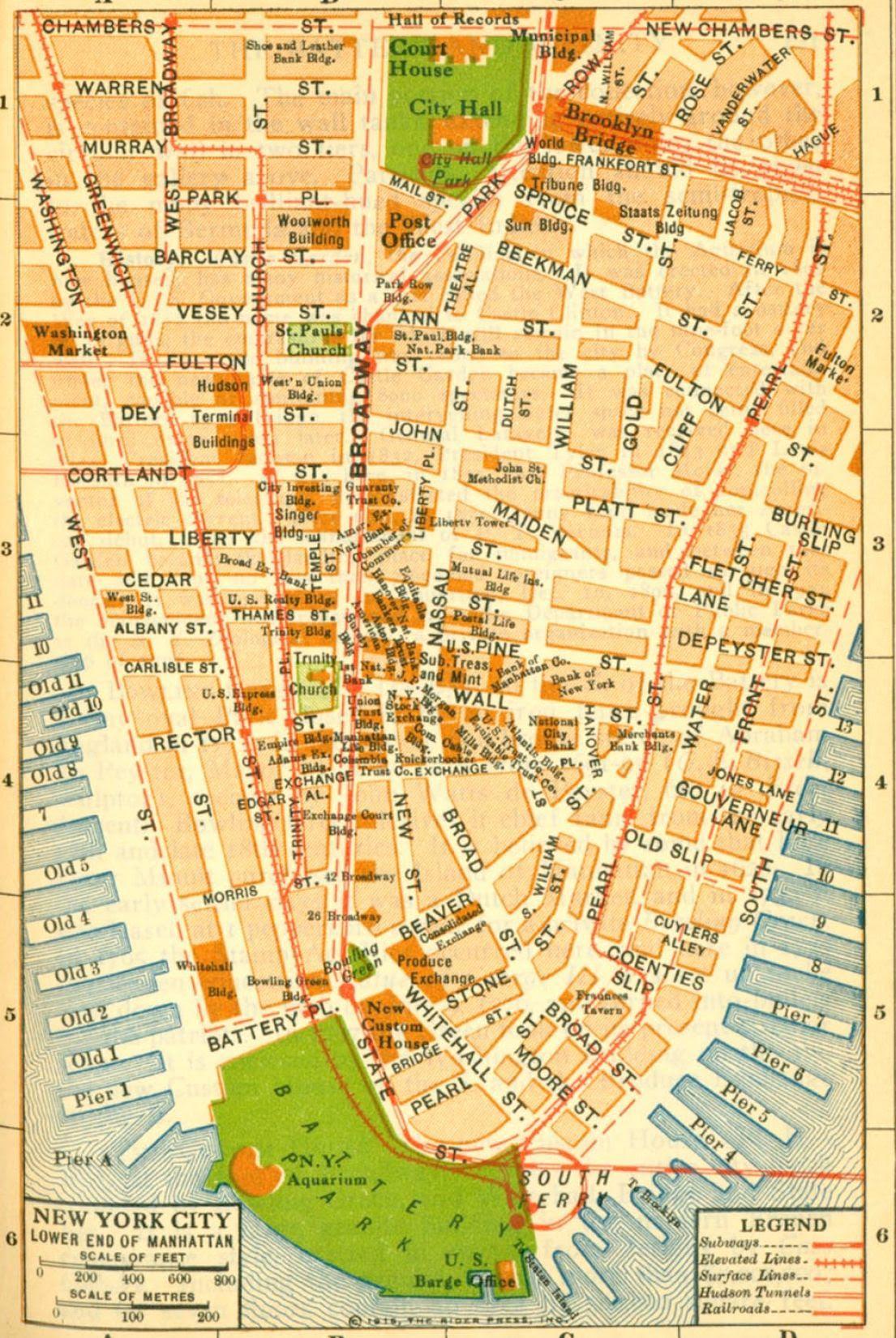 Printable New York City Map New York City Map Printable