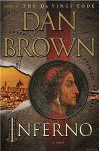 Inferno's cover - Dan Brown