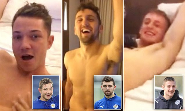 Leicester City stars filmed themselves in orgy racially abusing Thai women