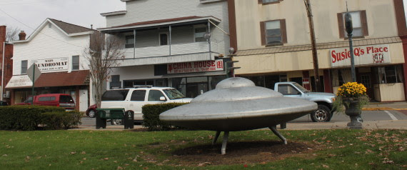 MARS PENNSYLVANIA SPACESHIP
