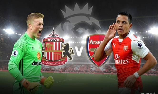 Sunderland vs Arsenal, 18h30 ngày 29/10: Khó chặn đà tiến