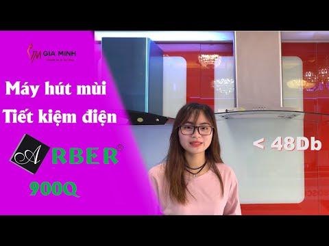 Đánh giá chất lượng máy hút mùi Arber AB 900Q tiết kiệm điện nhất 2018