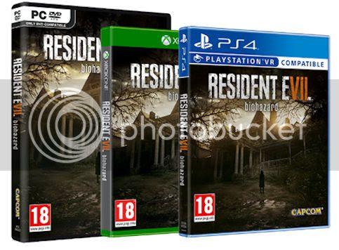 Resident Evil 7 disponible sur PS4 Xbox One PC