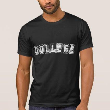 COLLEGE, Vintage T-Shirt