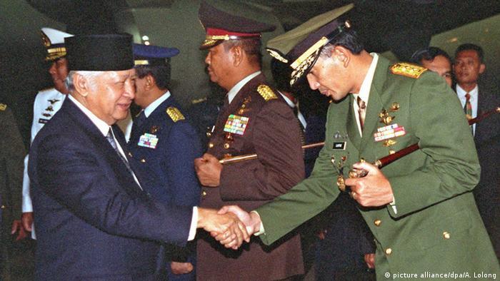 Indonesien Studentenproteste 1998