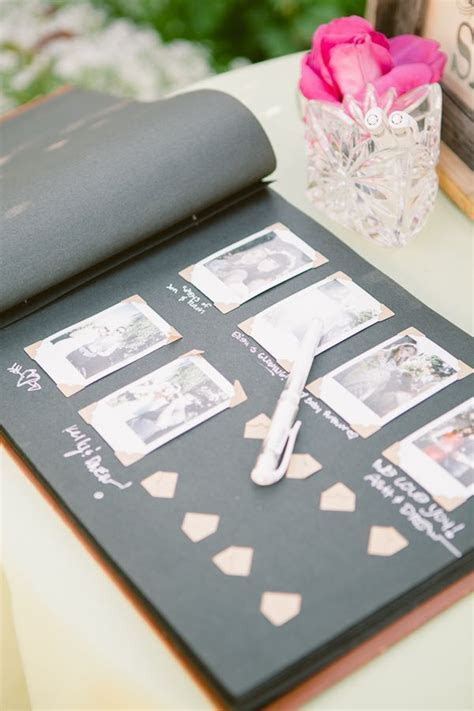 17 Best ideas about Polaroid Guest Books on Pinterest