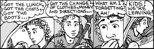 Home Spun comic strip #766
