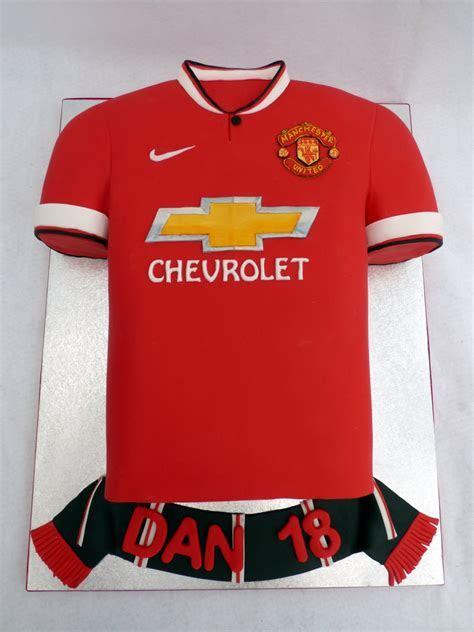 Man Utd 2015 Football Shirt Cake « Susie's Cakes