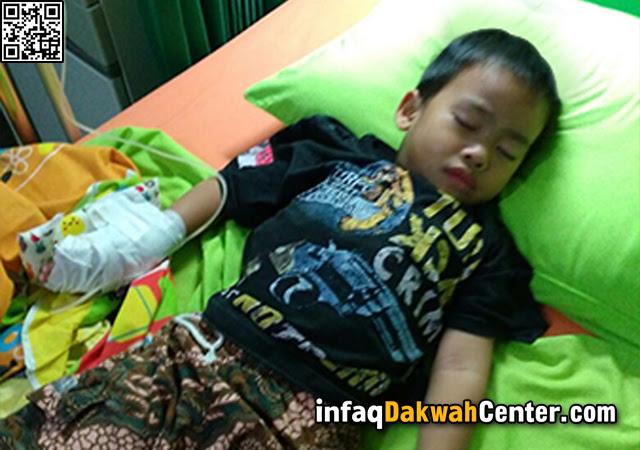 Ayo Bantu dan Share, Mutsana Anak Mujahid Dirawat Intensif di Rumah Sakit Karena Kelainan Imunitas