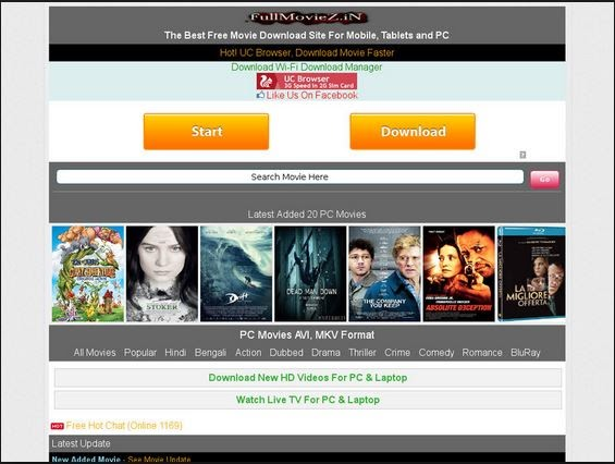 hd movies downloader for pc