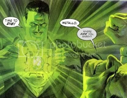 hot Metallo flashing action