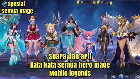 suara  arti kata kata  hero magemobile legends