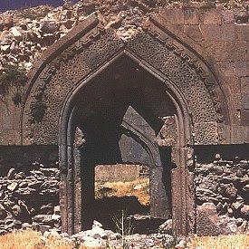 Entrance portal to caravanserai of Zor. Click for more. (VirtualANI)