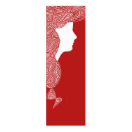 Lady Red Bookmarks profilecard