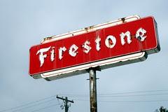 firestone neon sign