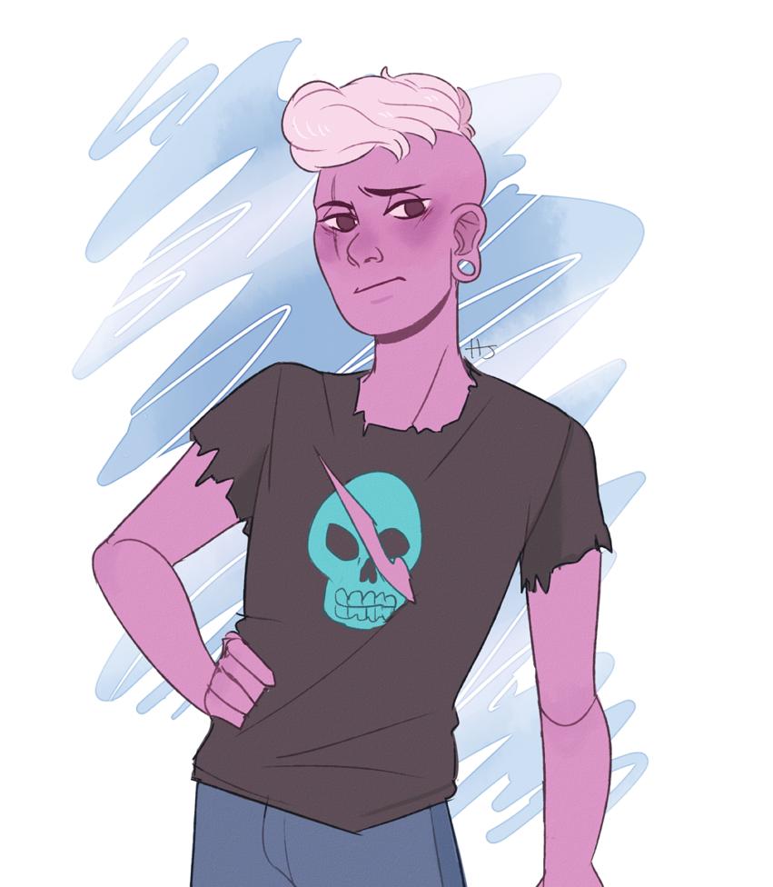 I love pink Lars.