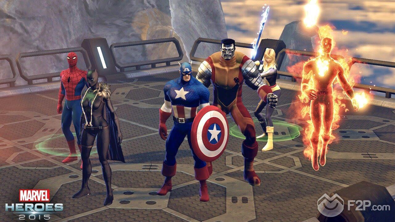 Hasil gambar untuk marvel heroes 2014