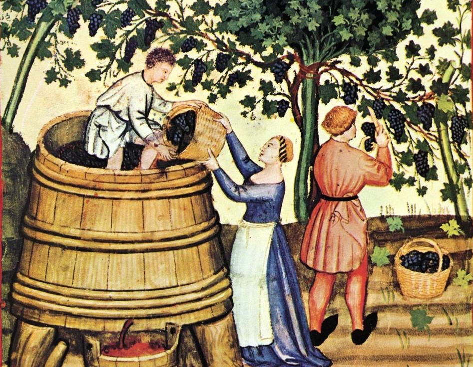 Resultado de imagen de cuba de tres pies para el vino
