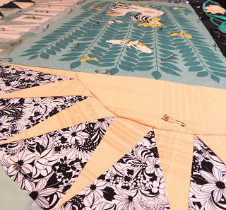 Basting the Quilt