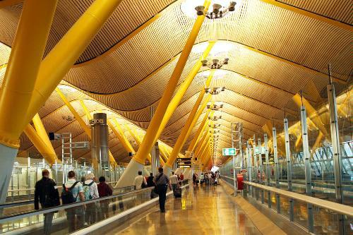 Terminal 4 of Madrid Barajas Airport.