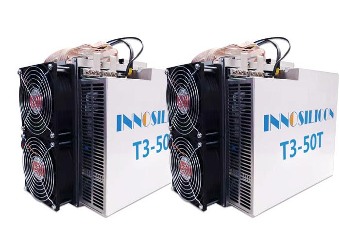 3100W Power Bitcoin Mining Machine , Bitcoin Miner Tool 50Th/S 272X203X268mm